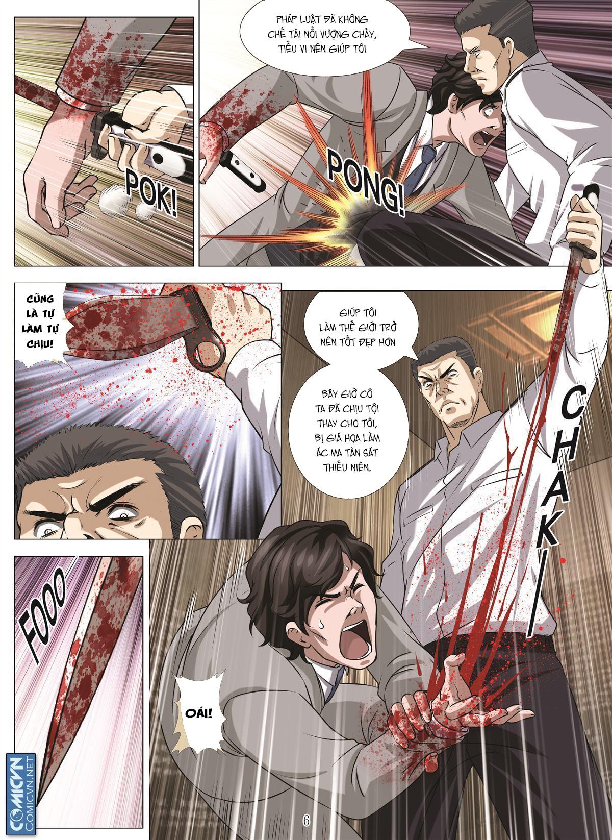 Bloody Girl chap 17.u Trang 6