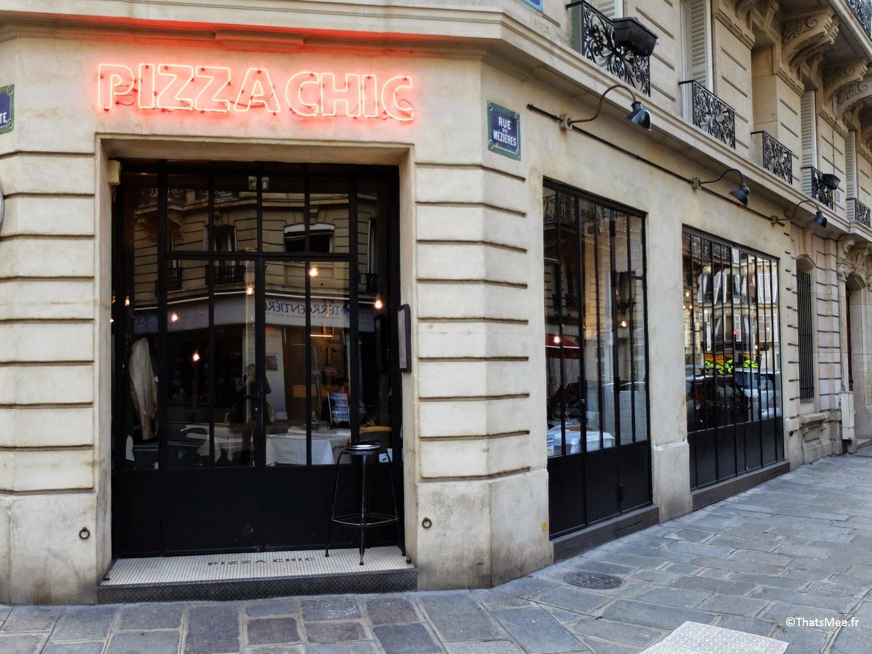 Resto Pizza Chic Paris proche Saint-Germain-des-prés pizzeria de qualité porduits italiens frais