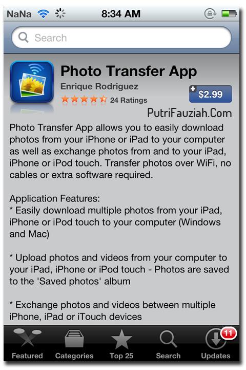 Bagaimana Cara Memindahkan Foto dari iPad, iPhone ke Komputer (PC) dan