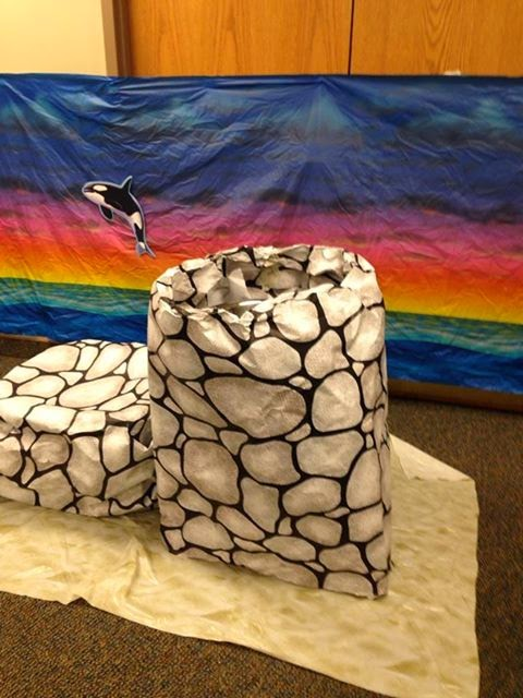 This prop for the quot woman at the well quot bible story was created by jamie