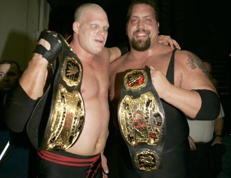 The Big Show y Kane nuevos Campeones en Pareja WWE