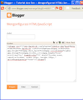 Menu Html/Java Script