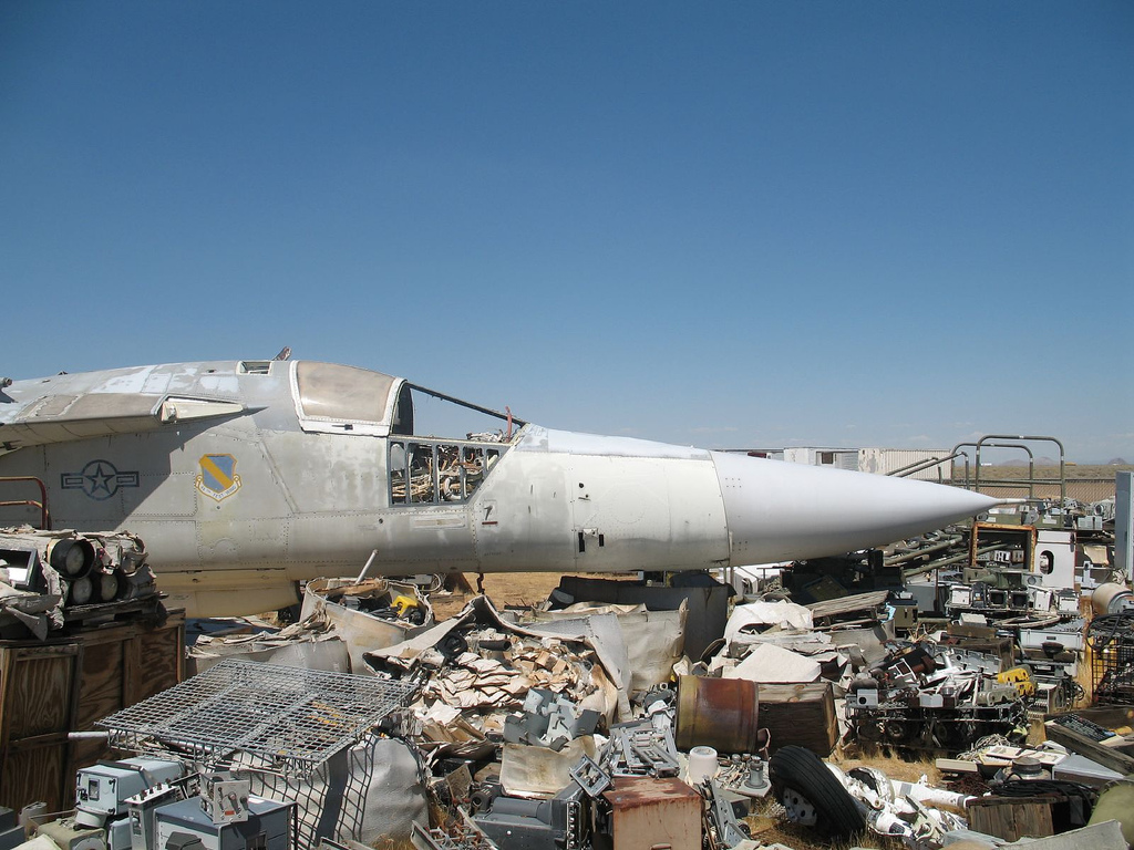 The largest aircraft graveyard on the planet 83