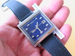SEIKO BLUE DIAL TV SHAPE - AUTOMATIC 6119