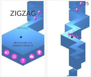 FunBrain App - Zig Zag