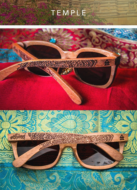 Westwood Sunglasses Tribal Line Temple