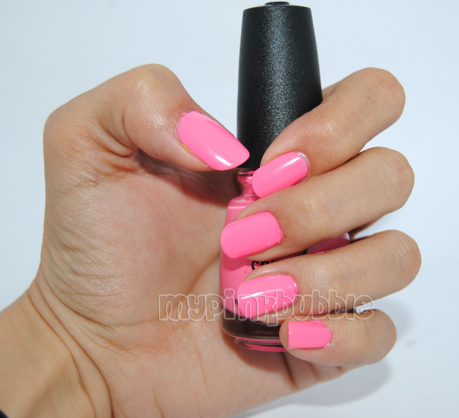China Glaze Float on swatch
