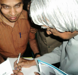 Zahoorullah S MD  along with former President of India Dr A P J Abdul Kalam