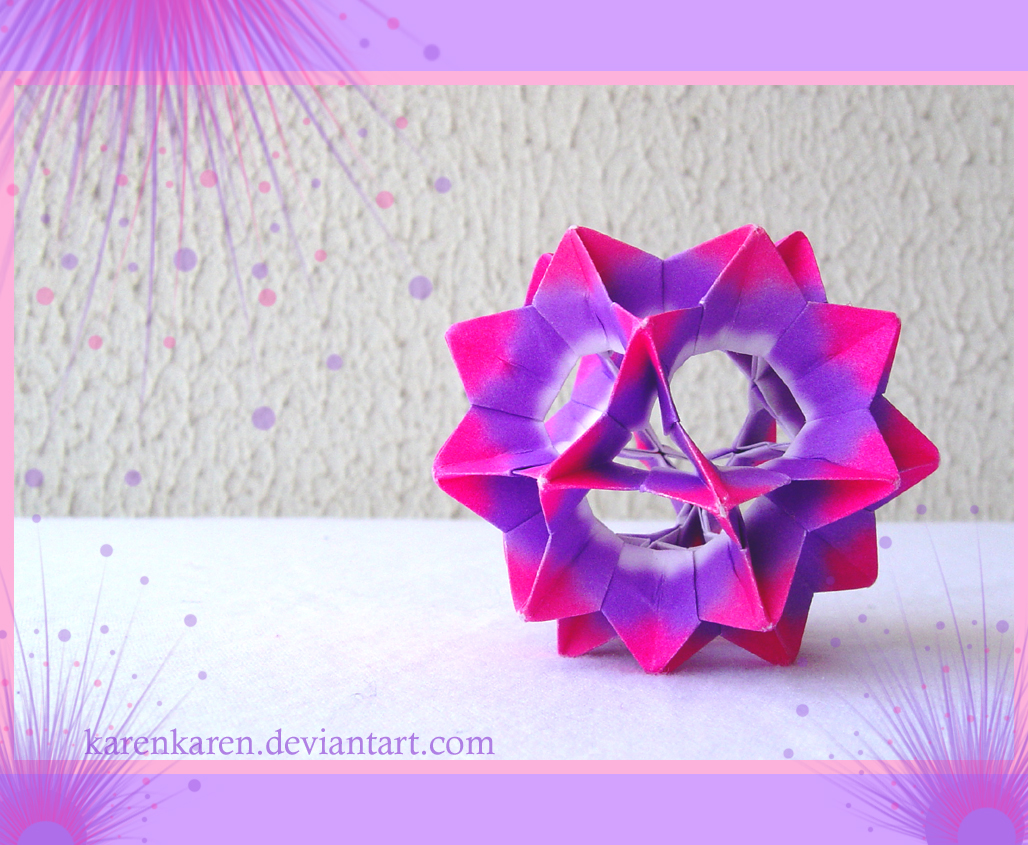 Origami Maniacs What Is A Kusudama