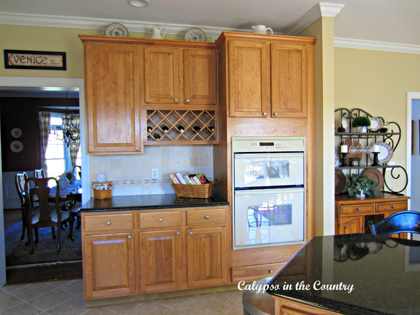 Choosing appliances calypso in the country for Can you replace kitchen cabinets without replacing countertop