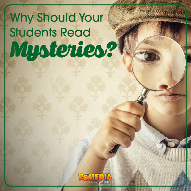 Mystery Genre | Part 1: Why should your students read mysteries? | Remedia Publications