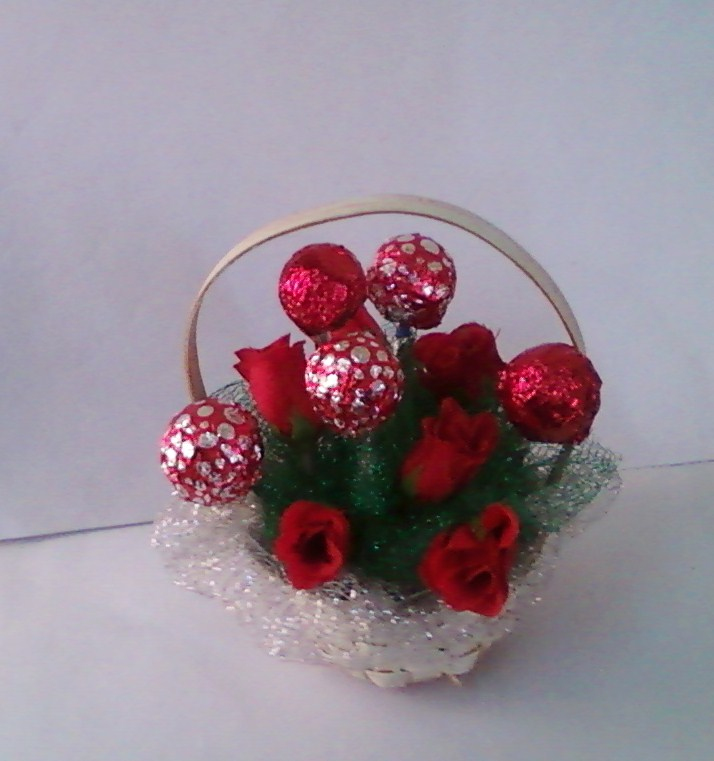 Anitakumarcrafts: Chocolate Bouquets-Tutorial