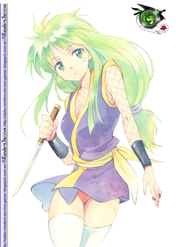ganbare goemon yae hyper cute ninja render