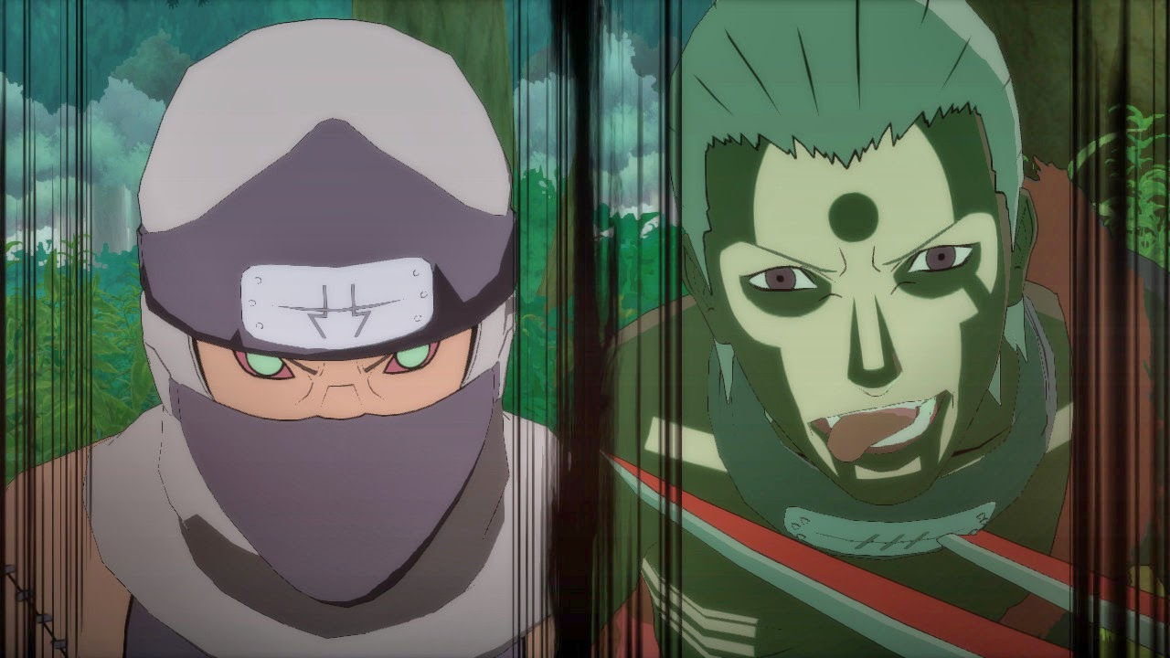 Kakuzu and Hidan Akatski Origins naruto storm revolution