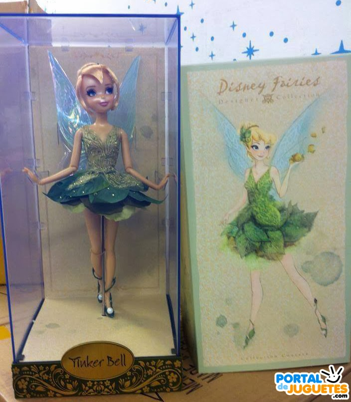 muñeca campanilla muñecas Disney Fairies Designer Collection
