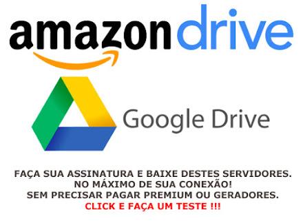Assinaturas (Google Drive + Amazon Drive)