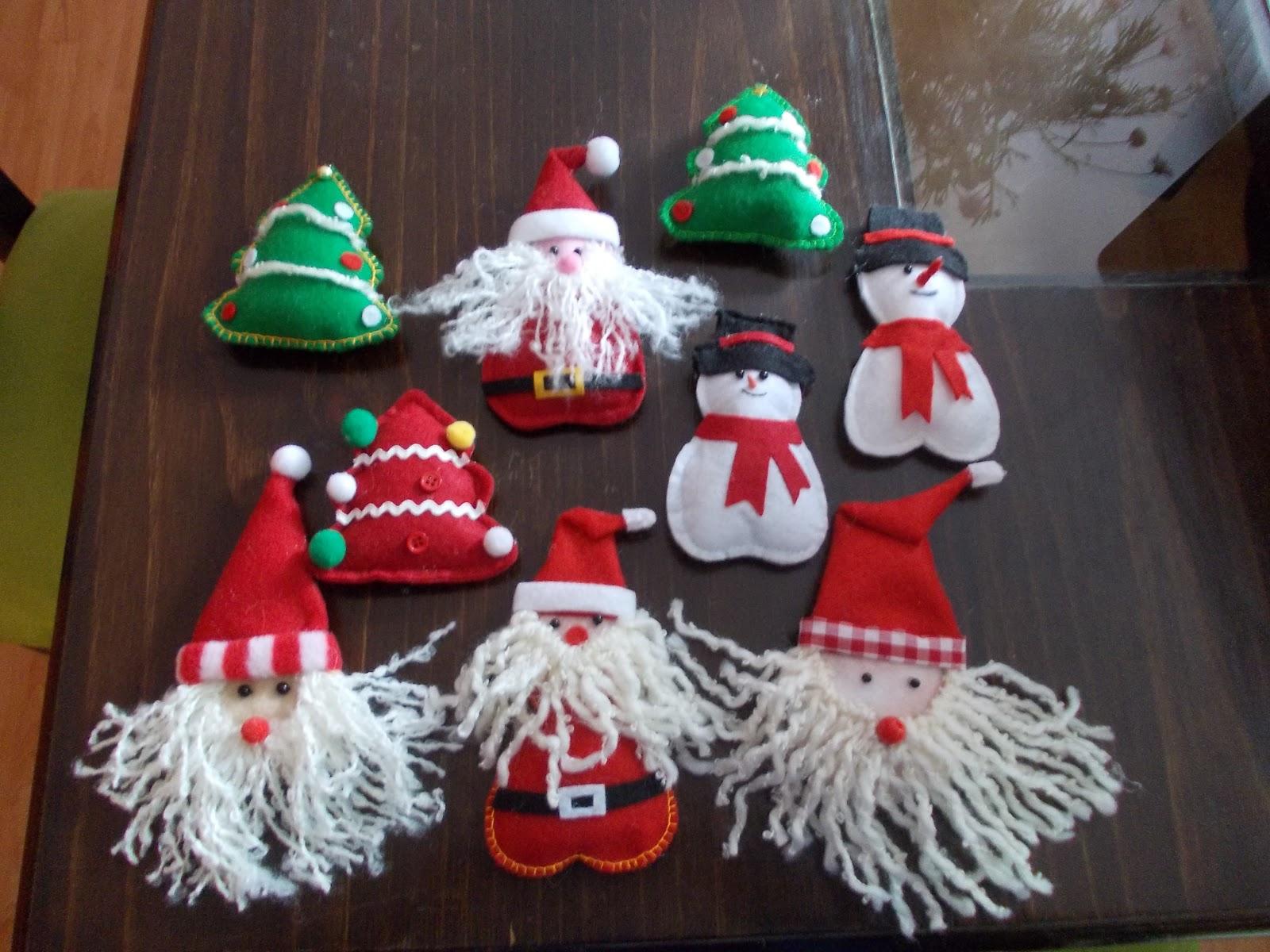 Adornos y regalos de navidad adornos para rbol de navidad - Adornos navidenos artesanales ...
