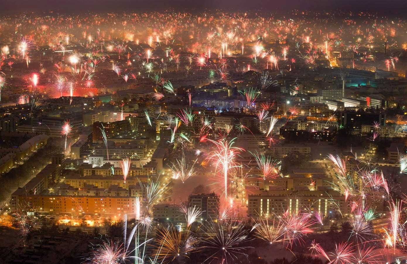Perayaan tahun baru di Munich, Jerman