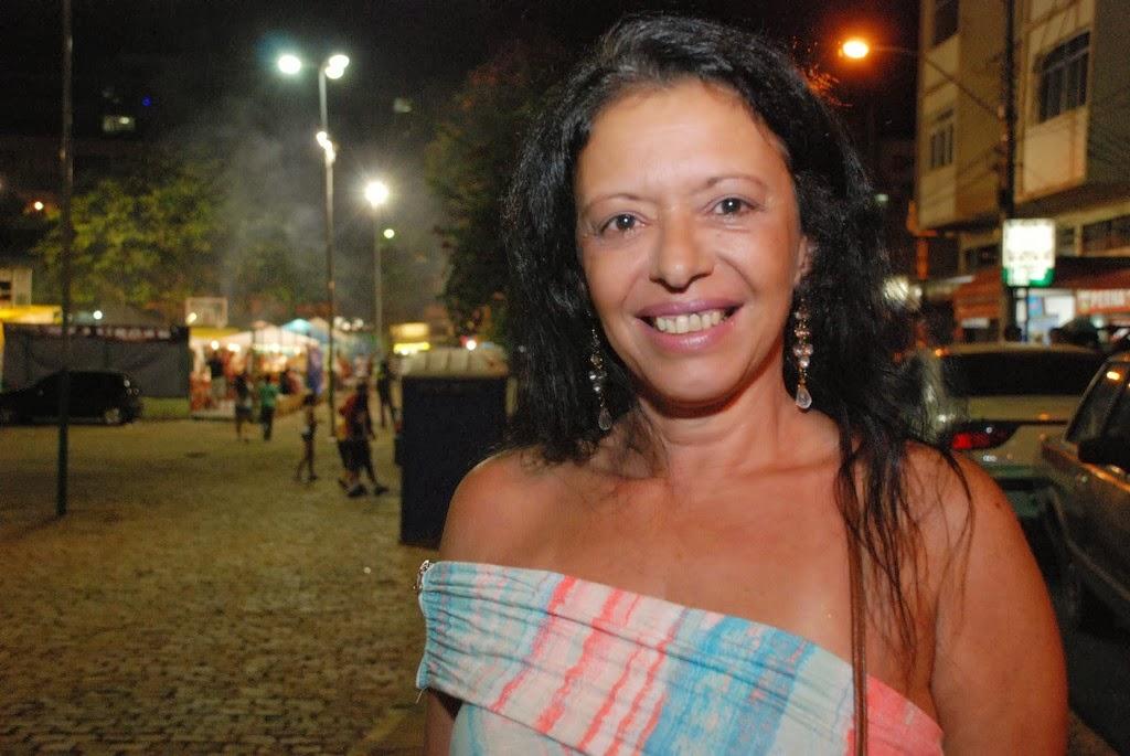 Claudia Tassara também fez questão de prestigiar a festa