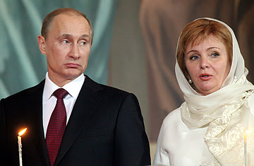 Vladimir Putin wife divorce
