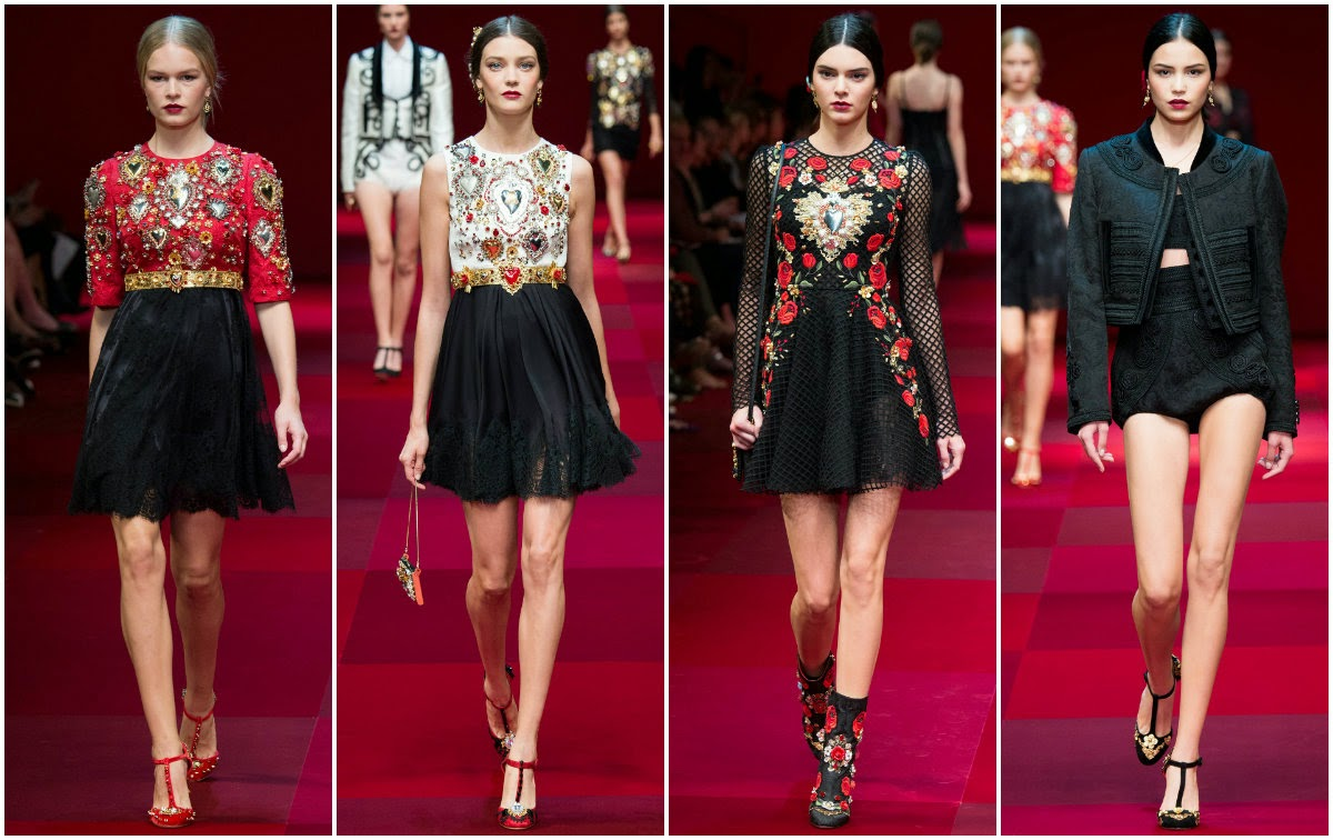 dolce and gabbana, runway, milan, fashion week, fashion, moda, desfile, spring, summer, spain, sicily, kendall jenner,