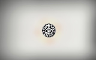 Starbucks Coffee Logo Minimal HD Wallpaper