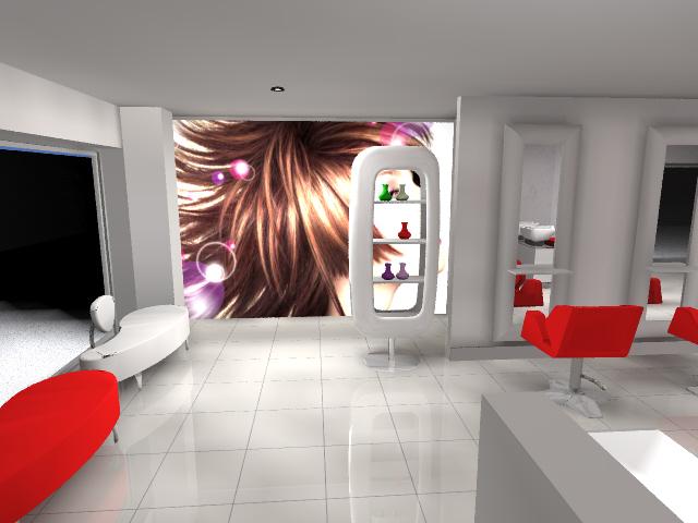 Mobiliario de peluqueria dise o de peluquer as 1 for Disenos de espejos para peluqueria