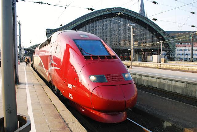 Viajar de trem de Paris a Bruxelas