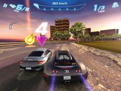 Play Extreme Asphalt Racing online for Free on Agame