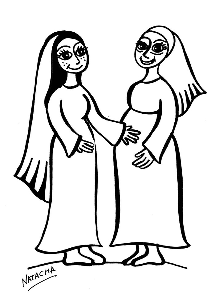 Visita de la virgen maria a su prima isabel - ver gratis