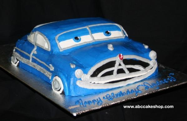 Car Cake Image Free Download : Image Doc Hudson Cake With Cars Download