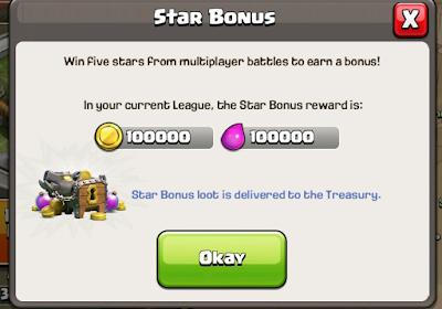 Bonus estelar diario