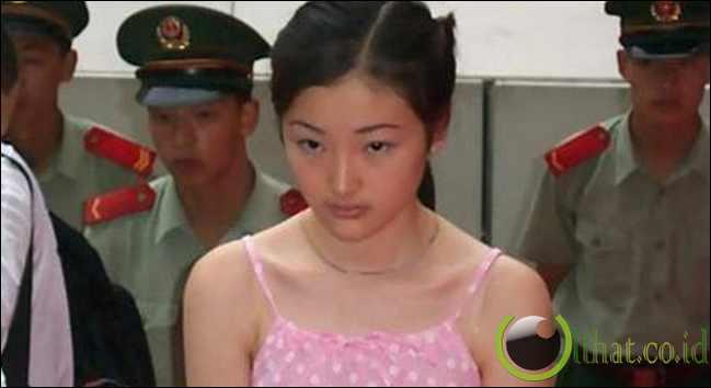 Tao Jing saat tertangkap dibandara