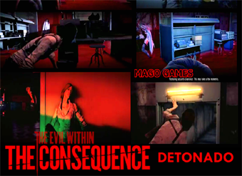 DLC THE EVIL WITHIN THE CONSEQUENCE DETONADO: