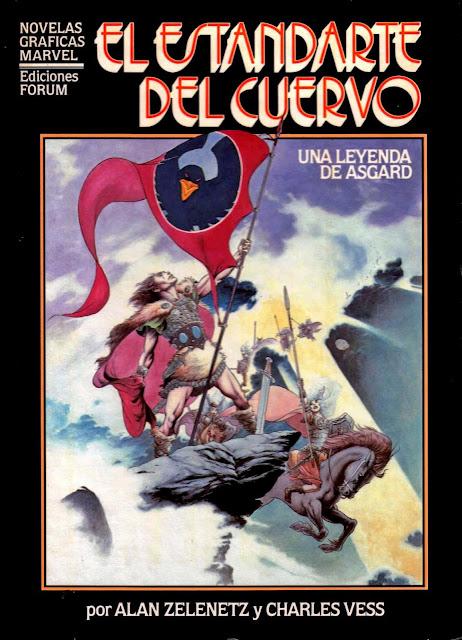 El Estandarte del Cuervo-Novelas Gráficas Marvel Nº 8 Ediciones Forum