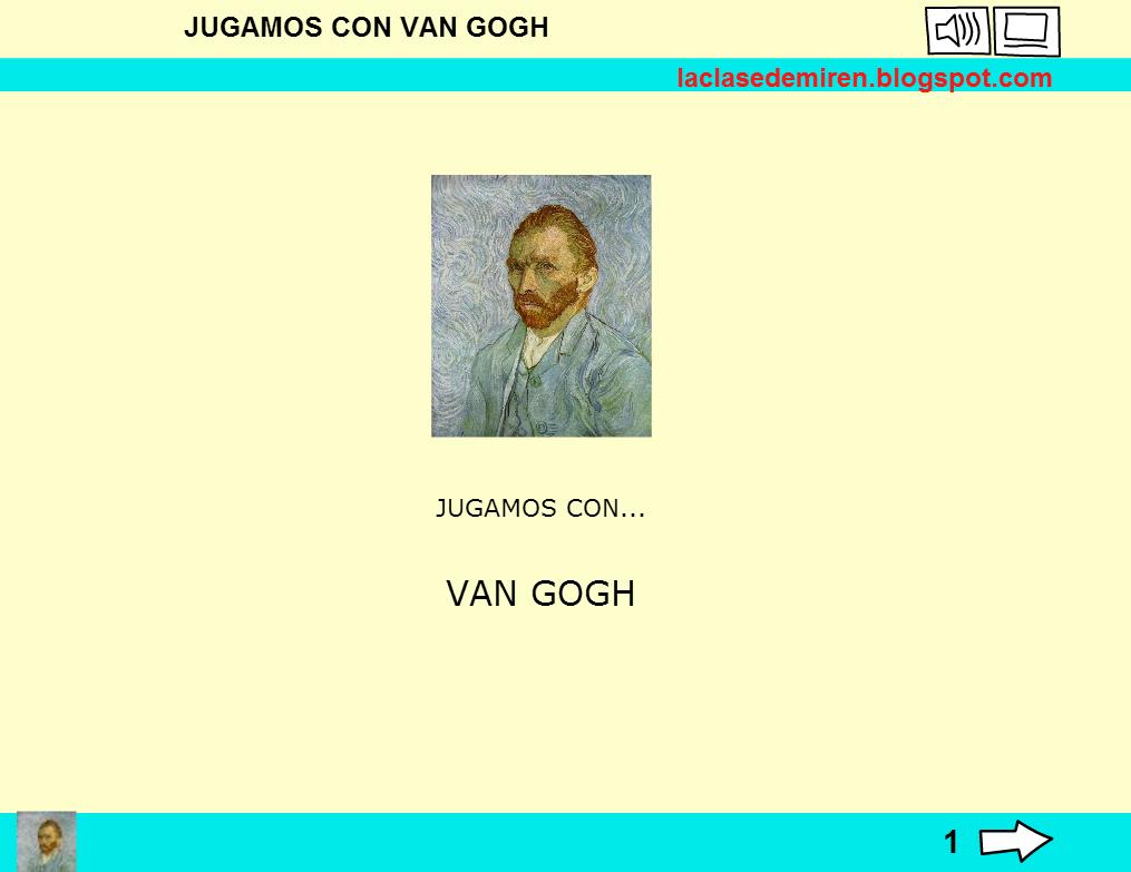 JUEGA Y APRENDE SOBRE VAN GOGH