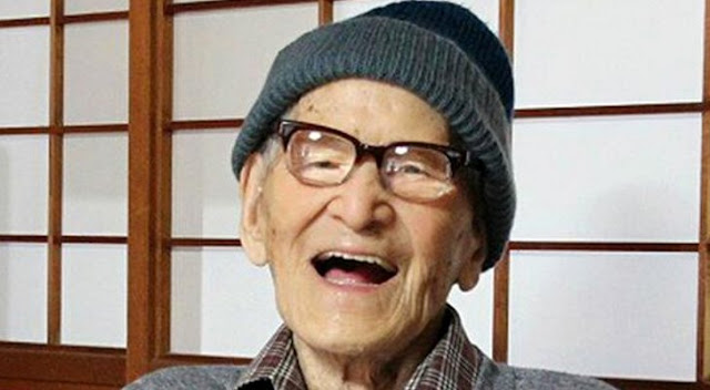 Jiroemon Kimura world oldest man