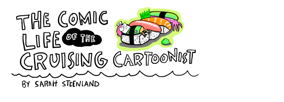 The Comic Life of The Cruising Cartoonist