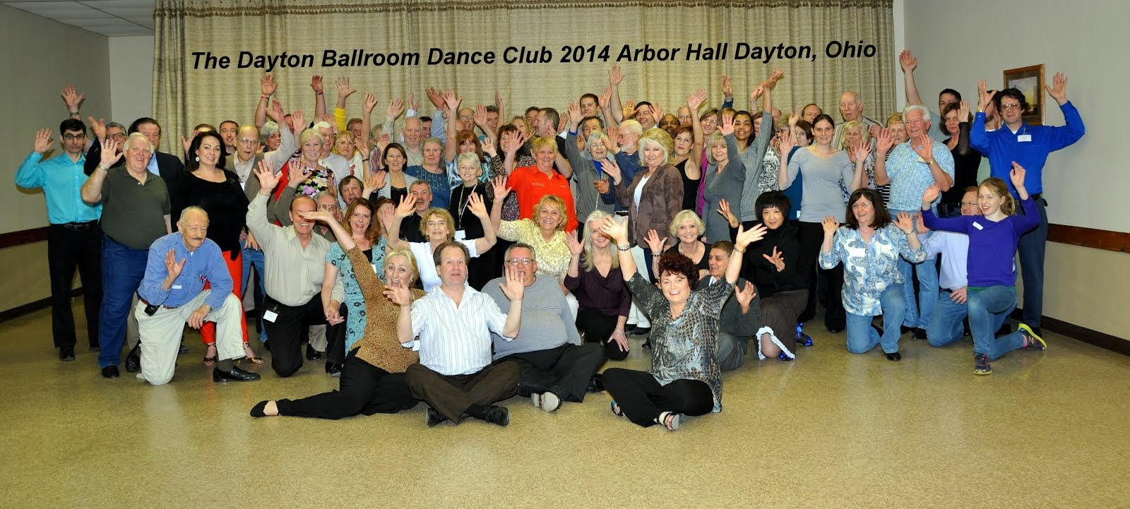 Dayton Ballroom Dance Club Monday Night Group Dance Lessons