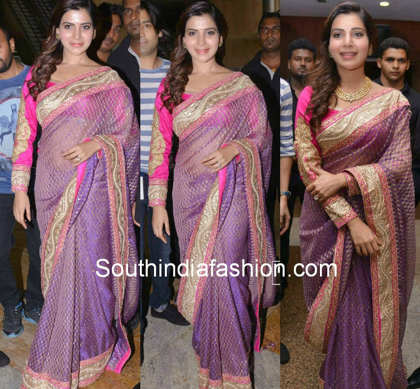 samantha prabhu shilpakala sarees at fashion thrills fashion show