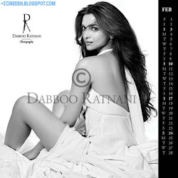 Deepika Padukone on Dabboo Ratnani 2013 Calendar Hot Celebrities Photoshoot Stills