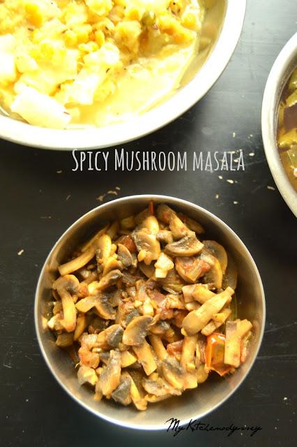 mushroom masala recipe2