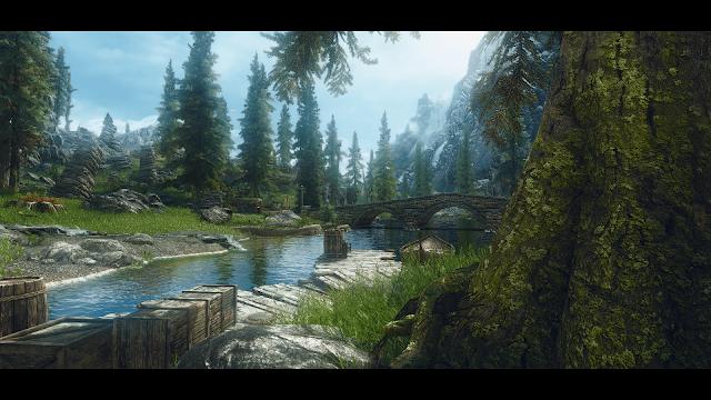 Skyrim modded screenshot