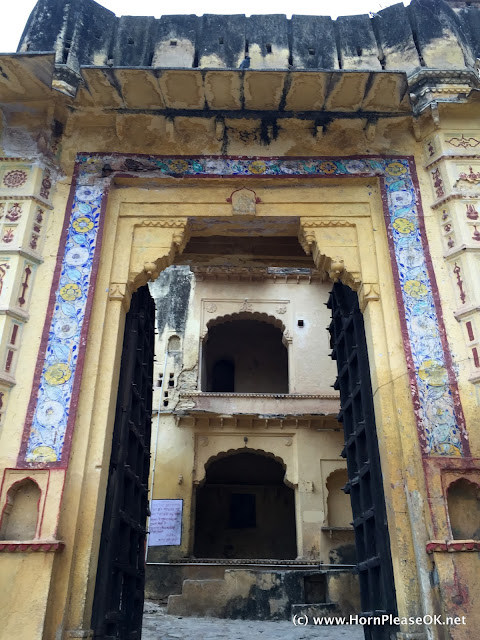 Bundi Palace entrance