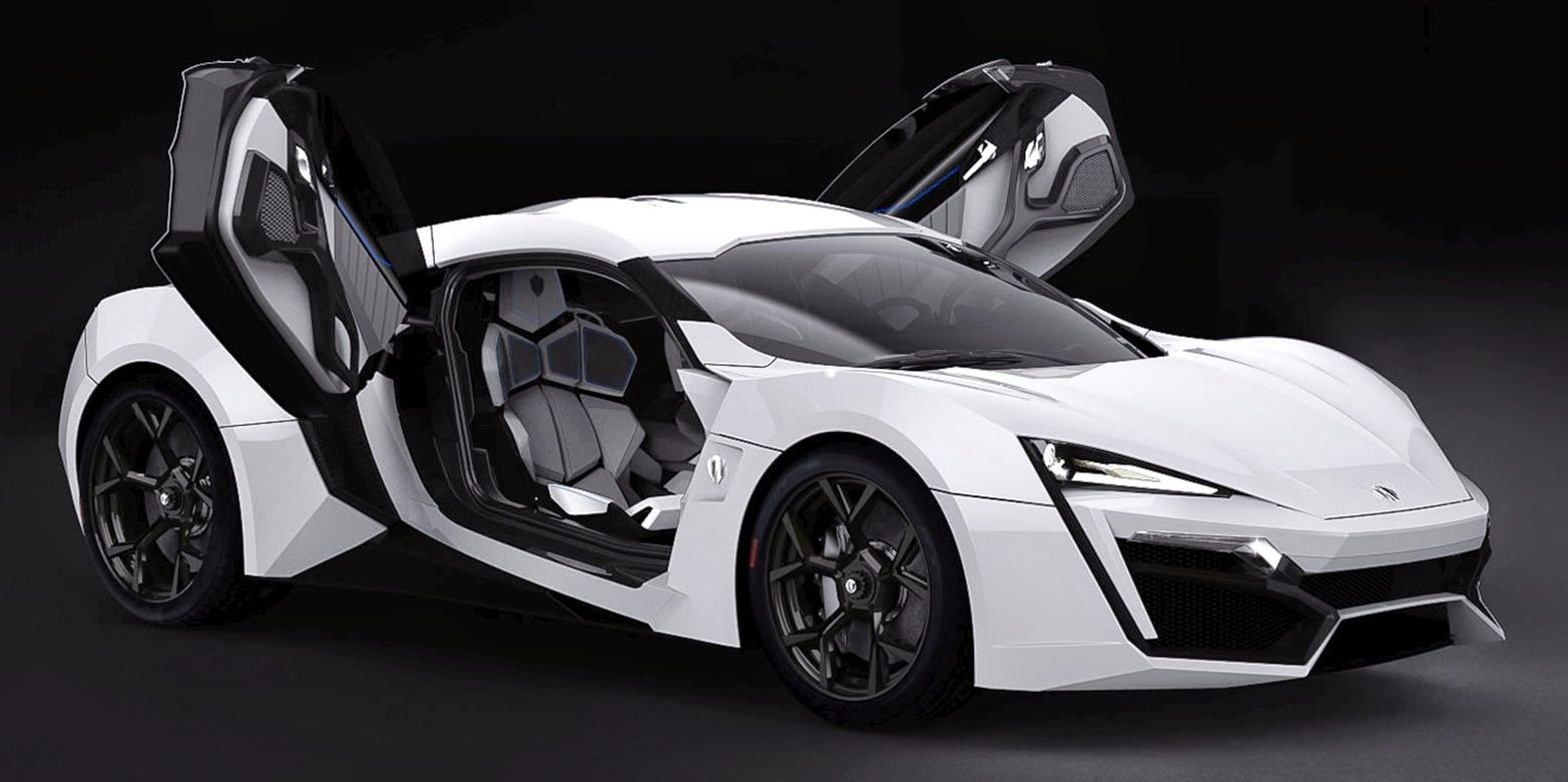 Lykan Hypersport Super Car Template Testing