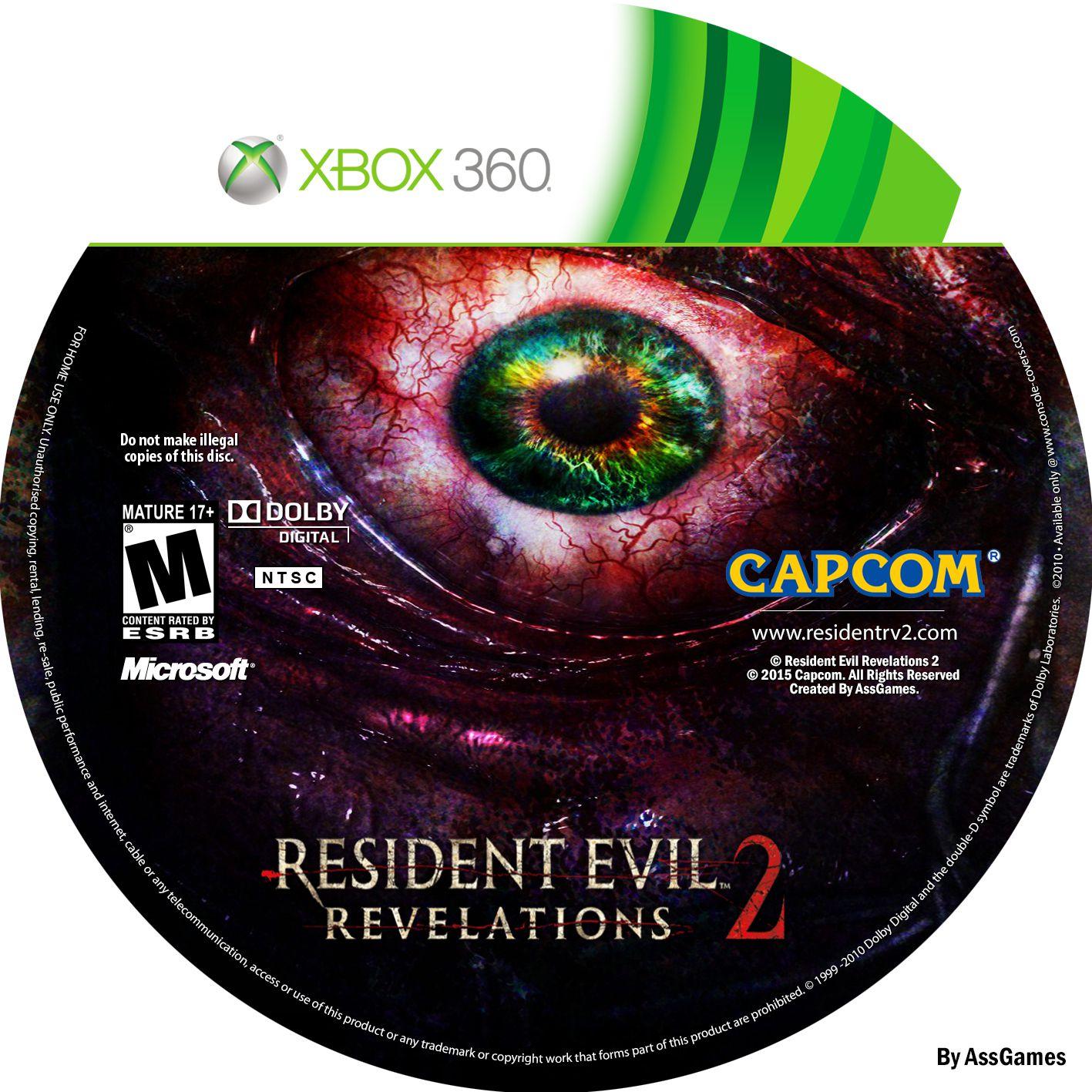 Label Resident Evil Revelations 2 Xbox 360