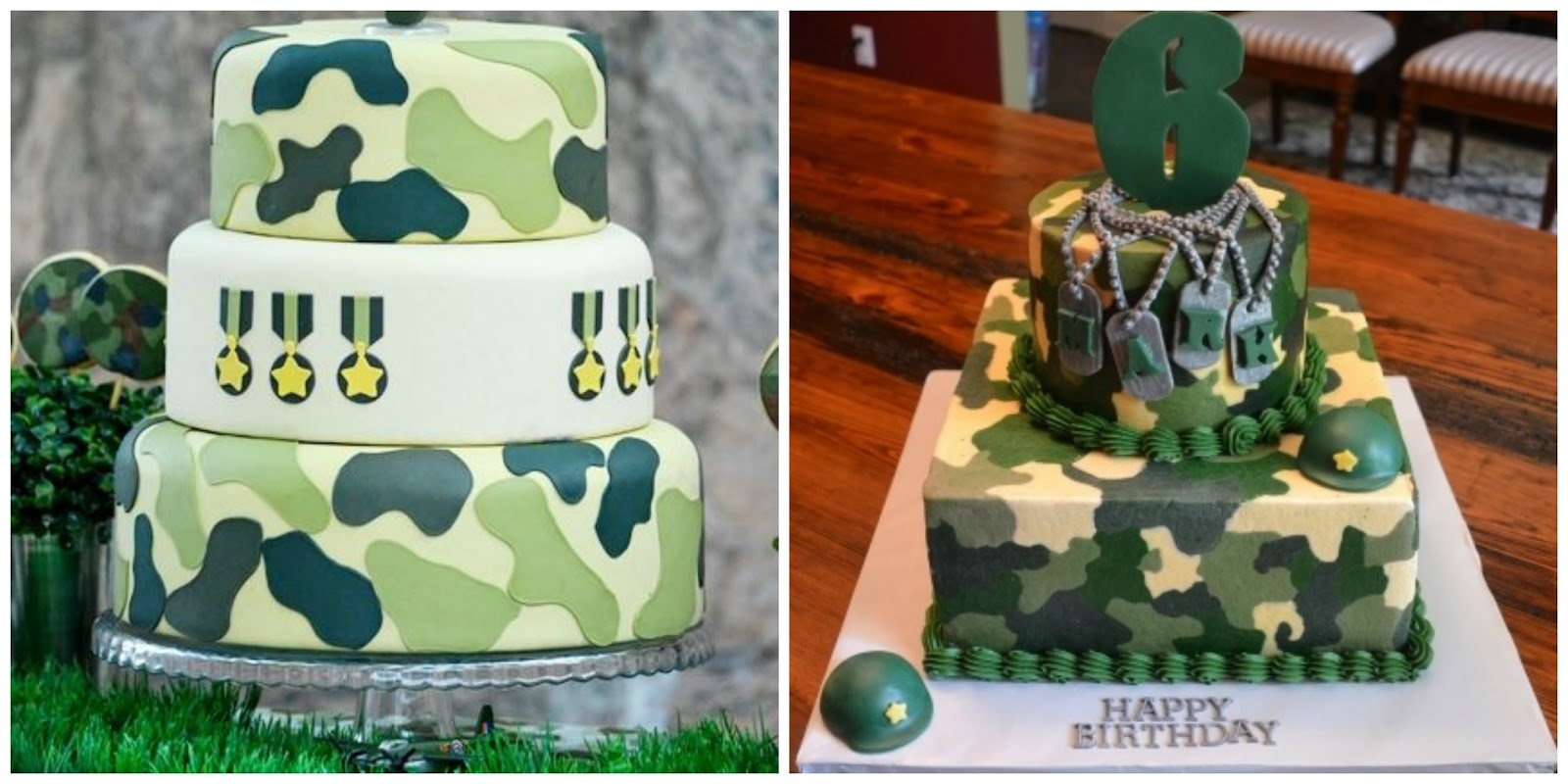 love zoesarah Throwing an army themed adultkids party