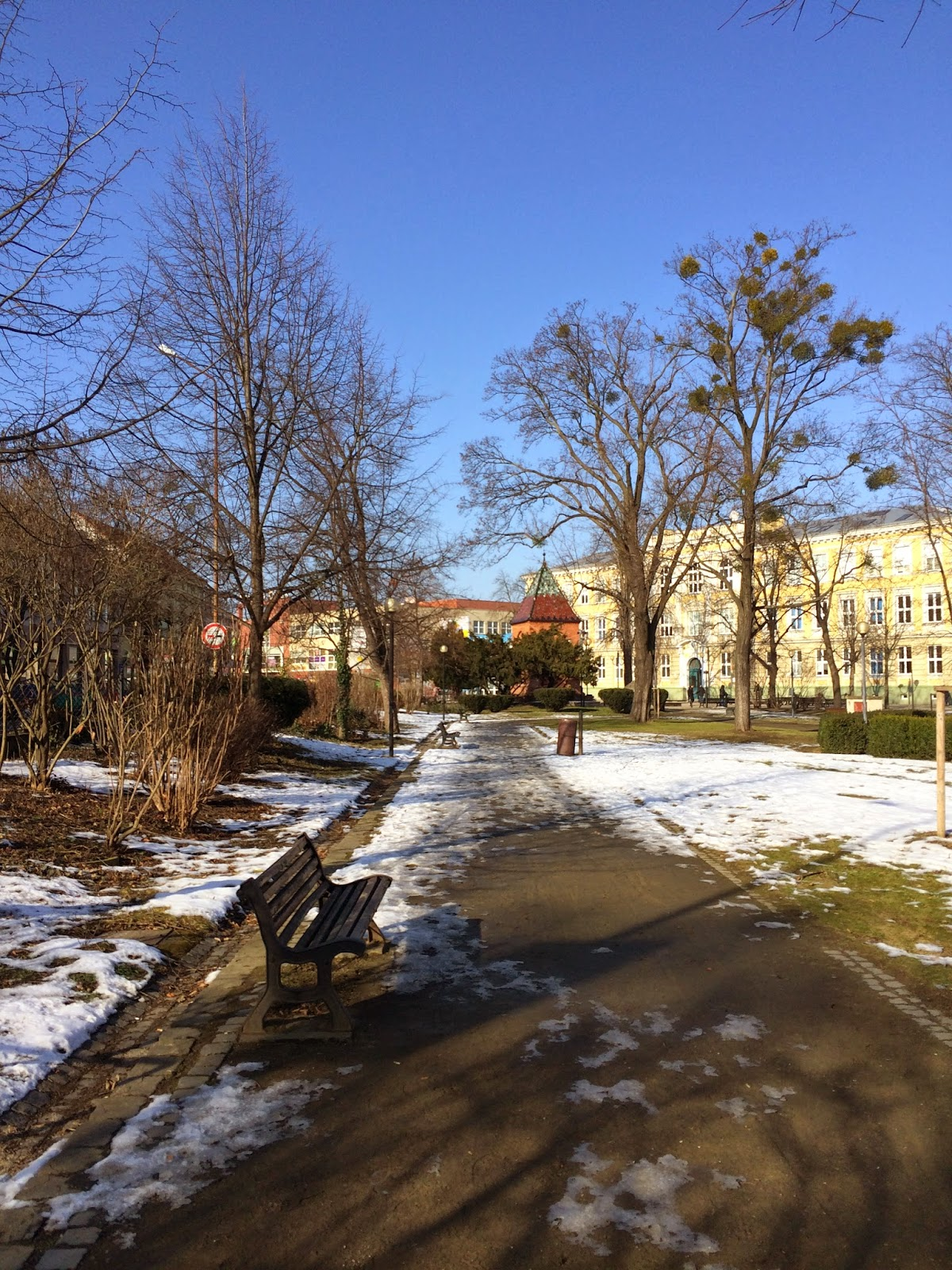 прогулки по Бржецлаву
