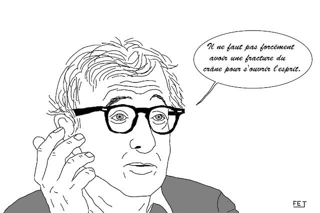 Woody Allen - Il ne faut pas forcément avoir une fracture du crâne pour s'ouvrir l'esprit