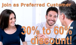 Become a Preferred Customer